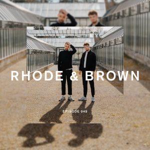 Rhode & Brown Future Disco Radio Show